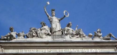 2 Strasbourg. Litteris et patriae 1