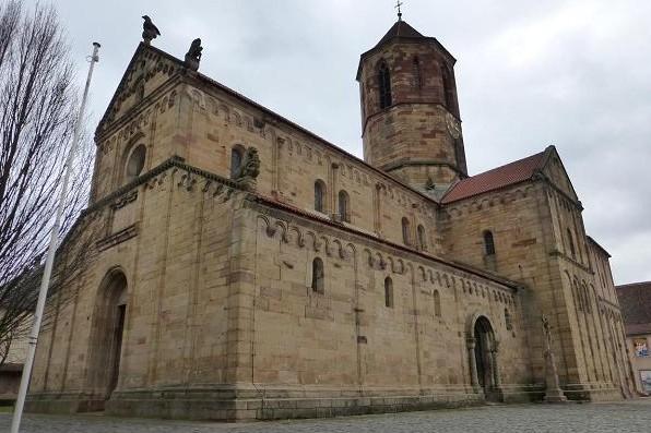Glise romane de rosheim histoires d 39 universit s for Eglise romane exterieur