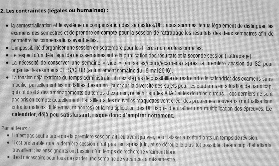 Calendrier Examens Bordeaux Montaigne.Bordeaux Tempo Le Calendrier Histoires D Universites