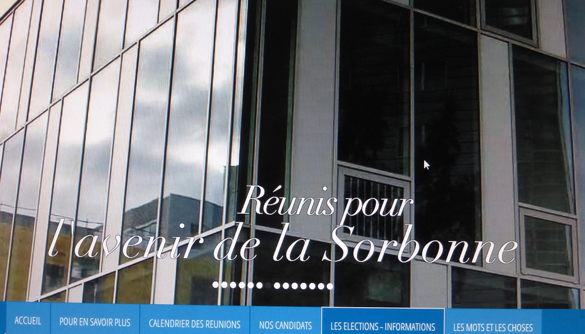 Sorbonne Calendrier.Elections A Paris Sorbonne Histoires D Universites