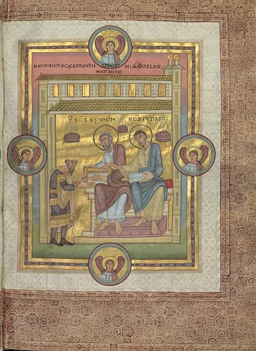 codex-caesareus-henri-iii-offering-the-book-to-simon-jude