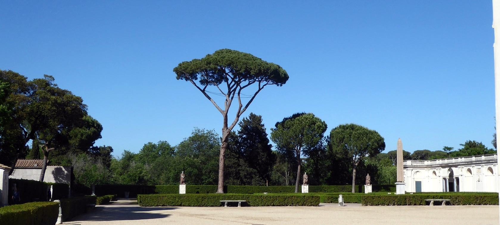 Le jardin de la villa medici histoires d 39 universit s for Jardin villa medicis rome