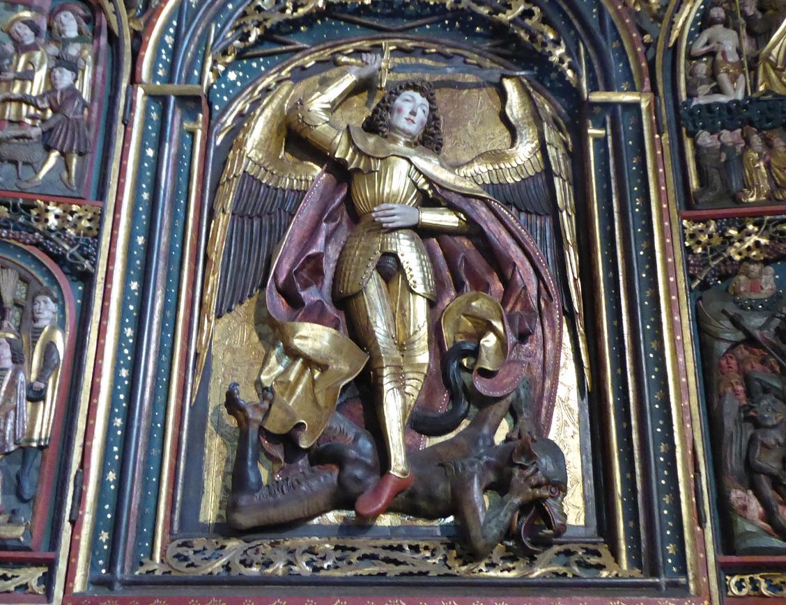 Saint Michel Terrassant Le Dragon Histoires D Universités